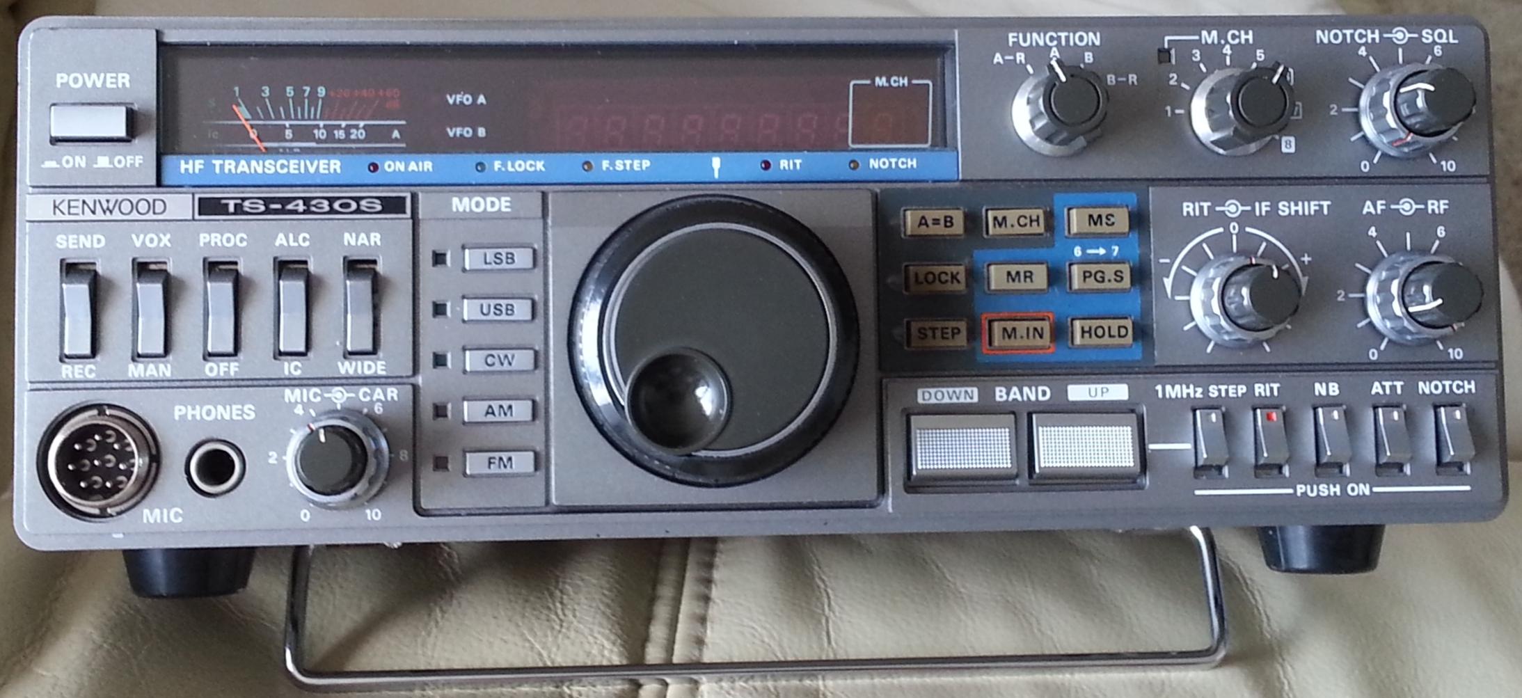 Amateur ham radio service television
